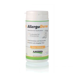 ANIBIO Allergoderm feed supplement for cats and dogs, for problem skin care 210 g