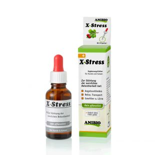 ANIBIO X-Stress feed supplement for cats and dogs, to support the nervous system 30 ml