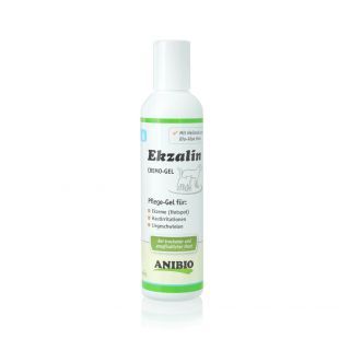 ANIBIO Ekzalin Hund product for dogs and cats gel for the care of sensitive, dry skin and coat 200 ml