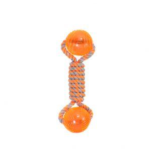 MISOKO&CO Toy for dogs, bone orange, 24 cm