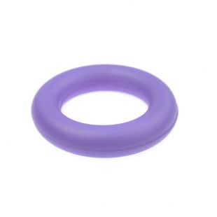 MISOKO&CO Toy for dogs, ring, rubber purple, 8.3cm