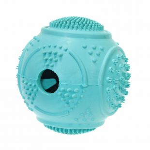 MISOKO&CO Toy for dogs ball for snacks light blue, 7.7 cm