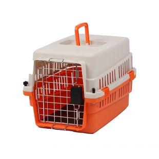 KANING Pet transport box 50x34x32 cm, orange