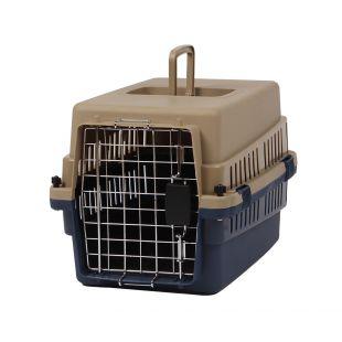 KANING Pet transport box 50x34x32 cm, dark blue