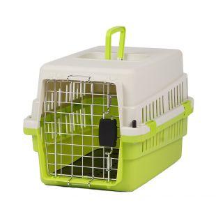 KANING Pet transport box 50x34x32 cm, green