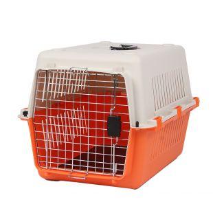 KANING Бокс для перевозки животных 67x51x47 см, оранжевый