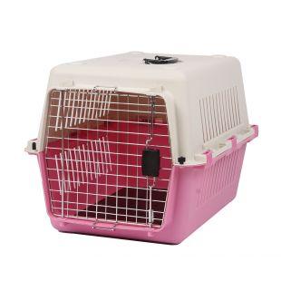 KANING Pet transport box 67x51x47 cm, pink