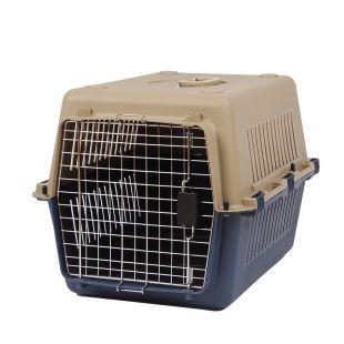 KANING Pet transport box 67x51x47 cm, dark blue