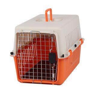 KANING Pet transport box 61x40x39 cm, orange