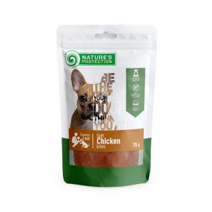 NATURE'S PROTECTION snack for dogs with chicken, 75 g x 6