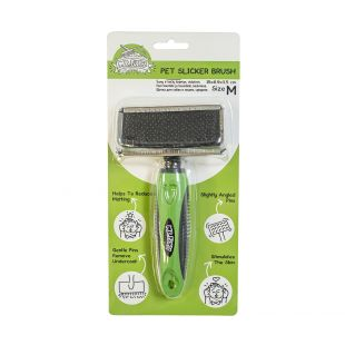 MR.FLUFFY Brush for dogs and cats medium, 15 x 8.9 x 3.5 cm