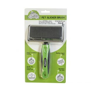 MR.FLUFFY Brush for dogs and cats large, 17 x 11.8 x 3.5 cm