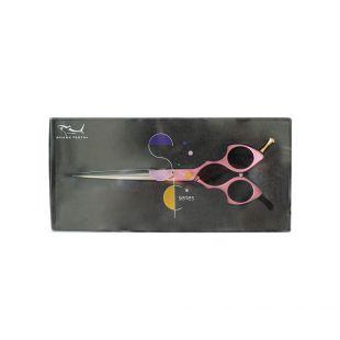 SHERNBAO Colourful scissors 16.5 cm straight, pink