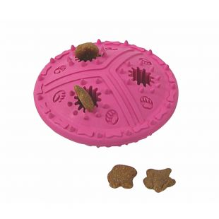 MISOKO&CO Toy for dogs rubber, red, 11.5 cm
