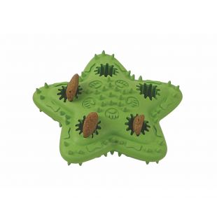 MISOKO&CO Toy for dogs rubber, green, 12x12 cm