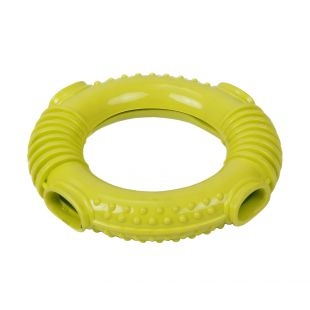MISOKO&CO Toy for dogs, yellow, 15.7x3 cm