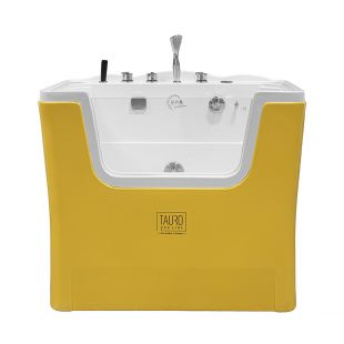 TAURO PRO LINE Ozone bath for pets with MILK SPA program yellow and white