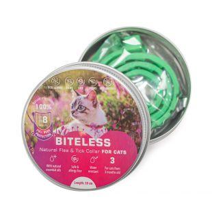 BITELESS Silicone anti-parasitic collar for cats 38 cm