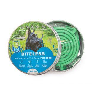 BITELESS Silicone anti-parasitic collar for dogs 70 cm