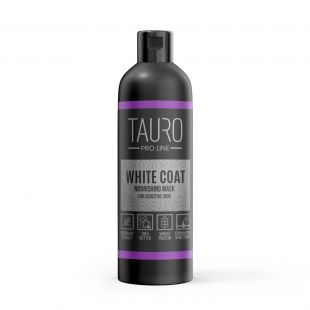 TAURO PRO LINE White Coat Nourishing Mask , coat mask for dogs and cats 250 ml