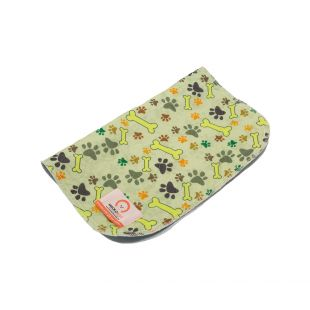 MISOKO&CO reusable pee pad for dogs 80x140 cm, with paws and bones