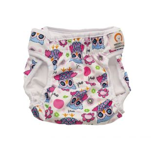 MISOKO&CO reusable diapers for female dogs XL, with owls