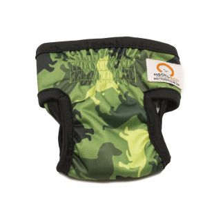 MISOKO&CO reusable diapers for female dogs M, camouflage