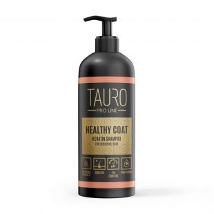 TAURO PRO LINE Healthy Coat Keratin Shampoo, shampoo for dogs and cats 1 l