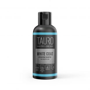 TAURO PRO LINE White Coat hydrating shampoo, shampoo for dogs and cats 50 ml