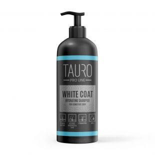 TAURO PRO LINE White Coat hydrating Shampoo, shampoo for dogs and cats 1 l