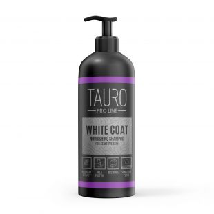 TAURO PRO LINE White Coat Nourishing Shampoo, shampoo for dogs and cats 1 l
