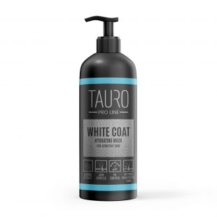 TAURO PRO LINE White Coat hydrating mask, маска для собак и кошек 1000 мл