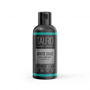 TAURO PRO LINE White Coat glossy conditioner, balsam for dogs and cats 50 ml