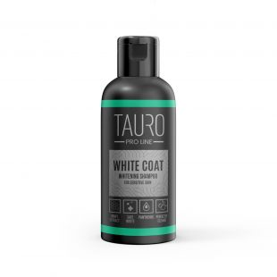 TAURO PRO LINE White Coat Whitening Shampoo, shampoo for dogs and cats 50 ml