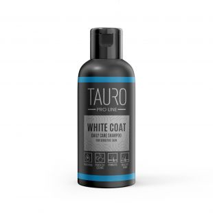 TAURO PRO LINE White Coat Daily Care Shampoo, shampoo for dogs and cats 50 ml