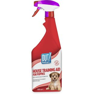 OUT! House training aid for puppies 500 ml