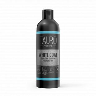 TAURO PRO LINE White Coat moisturizing shampoo, shampoo for dogs and cats 250 ml