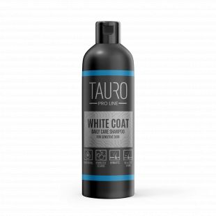TAURO PRO LINE White Coat Daily Care Shampoo, shampoo for dogs and cats 250 ml