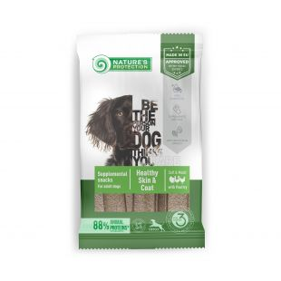 NATURE'S PROTECTION Healthy Skin & Coat with Poultry Adult All breedssnacks with poultry for adult dogs 160 g x 6
