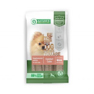 NATURE'S PROTECTION Poultry Comfort Calm complementary feed-snack with poultry for adult dogs 160 g x 6