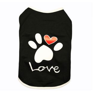 PAW COUTURE t-shirt for dogs S, black