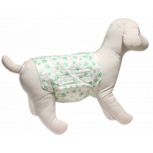 HIPPIE PET ONE-TIME USE DIAPERS FOR MALE DOGS size S, 30-46 cm, 1 pc x 12