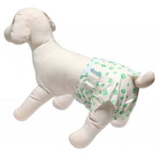 HIPPIE PET ONE-TIME USE DIAPERS FOR FEMALE DOGS 25-33 cm x 12